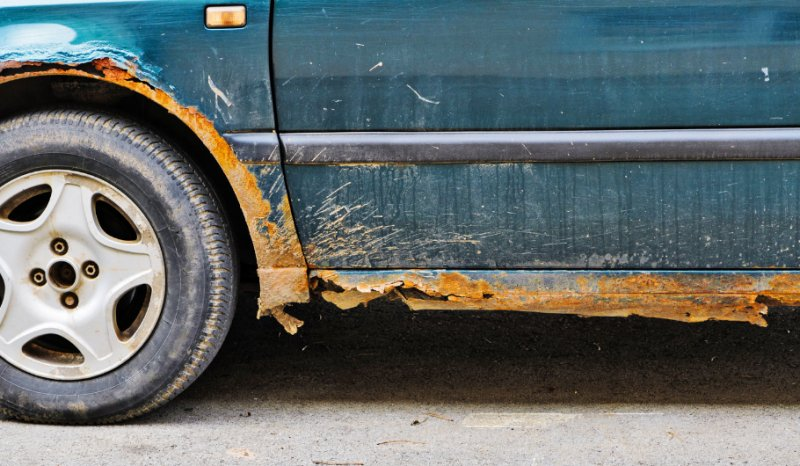 Road Salt influence on the car